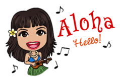 Aloha Lani In Hawaii sticker #9076418