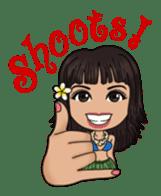 Aloha Lani In Hawaii sticker #9076420