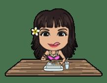 Aloha Lani In Hawaii sticker #9076440