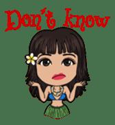 Aloha Lani In Hawaii sticker #9076443