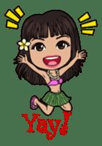 Aloha Lani In Hawaii sticker #9076454