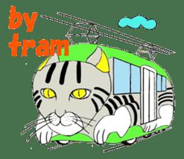 "Japanese Bobtail cat ""TAP"" sticker #9083995"