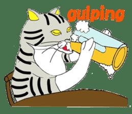 "Japanese Bobtail cat ""TAP"" sticker #9083998"