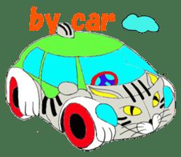 "Japanese Bobtail cat ""TAP"" sticker #9084000"