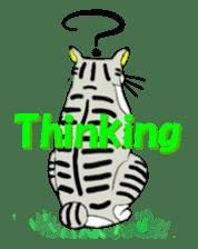 "Japanese Bobtail cat ""TAP"" sticker #9084003"