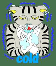 "Japanese Bobtail cat ""TAP"" sticker #9084015"