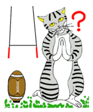 "Japanese Bobtail cat ""TAP"" sticker #9084017"