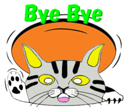 "Japanese Bobtail cat ""TAP"" sticker #9084022"
