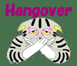 "Japanese Bobtail cat ""TAP"" sticker #9084023"