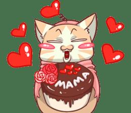 CatRabbit ; Mother's Day sticker #9090027