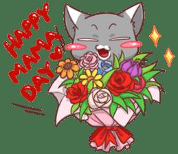 CatRabbit ; Mother's Day sticker #9090029