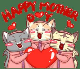 CatRabbit ; Mother's Day sticker #9090033