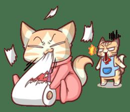 CatRabbit ; Mother's Day sticker #9090044