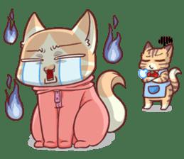 CatRabbit ; Mother's Day sticker #9090046