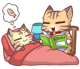 CatRabbit ; Mother's Day sticker #9090048