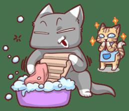 CatRabbit ; Mother's Day sticker #9090050