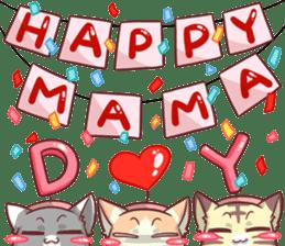 CatRabbit ; Mother's Day sticker #9090053