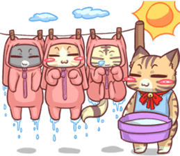 CatRabbit ; Mother's Day sticker #9090062