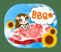 nikujoshi Sticker sticker #9099850