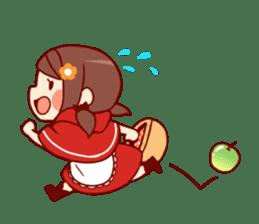 Little Red Riding Hood &  Wolf sticker #9105218