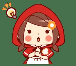 Little Red Riding Hood &  Wolf sticker #9105222