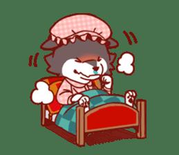 Little Red Riding Hood &  Wolf sticker #9105229