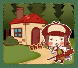 Little Red Riding Hood &  Wolf sticker #9105232