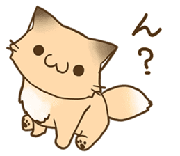 Konkon Kityune sticker #9105929