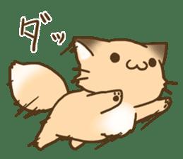 Konkon Kityune sticker #9105930