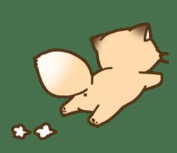 Konkon Kityune sticker #9105943