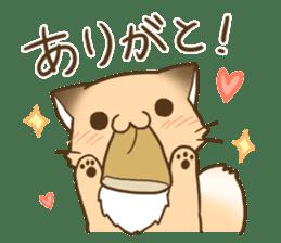 Konkon Kityune sticker #9105954