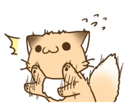 Konkon Kityune sticker #9105956