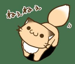 Konkon Kityune sticker #9105959