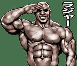 Muscle macho sticker 6 sticker #9109908