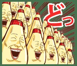 Mayonnaise Man 9 sticker #9112731
