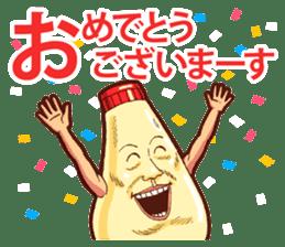 Mayonnaise Man 9 sticker #9112732