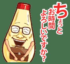 Mayonnaise Man 9 sticker #9112736