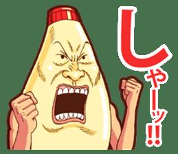 Mayonnaise Man 9 sticker #9112747