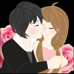 mari&mera romantic couple
