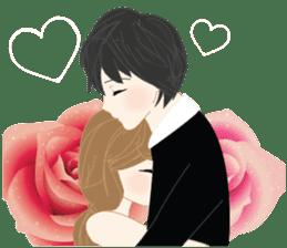 mari&mera romantic couple sticker #9113013