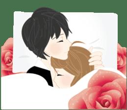 mari&mera romantic couple sticker #9113025