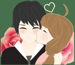 mari&mera romantic couple sticker #9113029