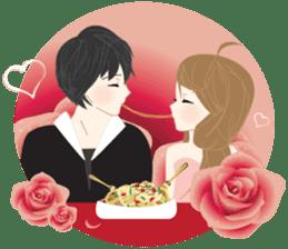 mari&mera romantic couple sticker #9113032