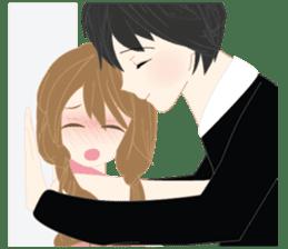 mari&mera romantic couple sticker #9113035