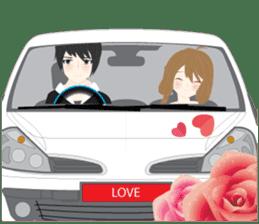 mari&mera romantic couple sticker #9113043