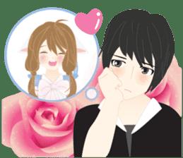 mari&mera romantic couple sticker #9113045