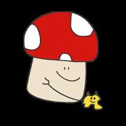 สติ๊กเกอร์ไลน์ MushroomOuO