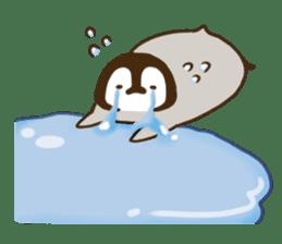 cute pengin2 sticker #9117691