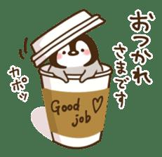 cute pengin2 sticker #9117697