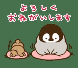 cute pengin2 sticker #9117702